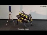 Швейцарские инженеры научили роботов танцевать под музыку.