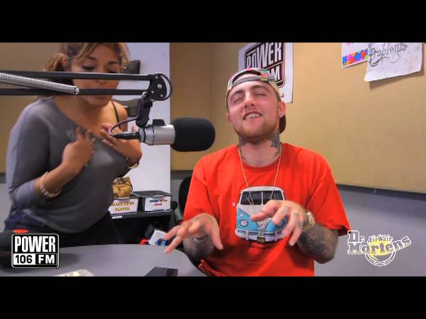 Mac Miller Flexing with Ariana Grande's track - The Way