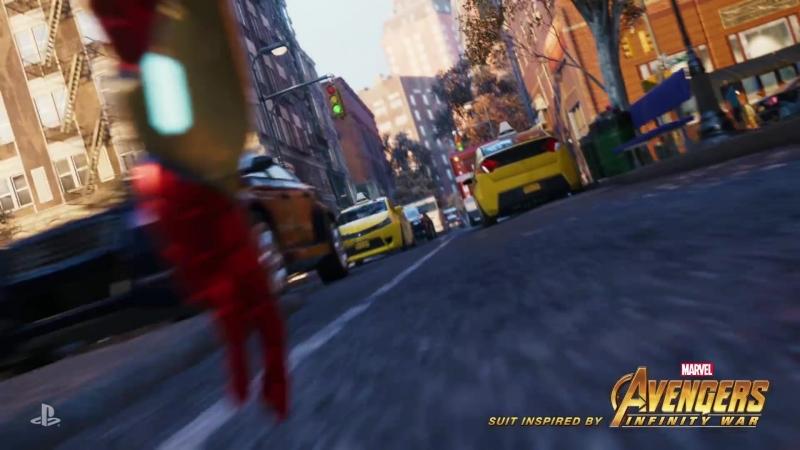 Костюм Железного паука в Spider Man за предзаказ