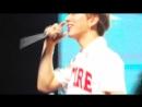 [VK][180303] MONSTA X fancam (Kihyun focus) @ HSBC Women's World Championship Music Festival 2018