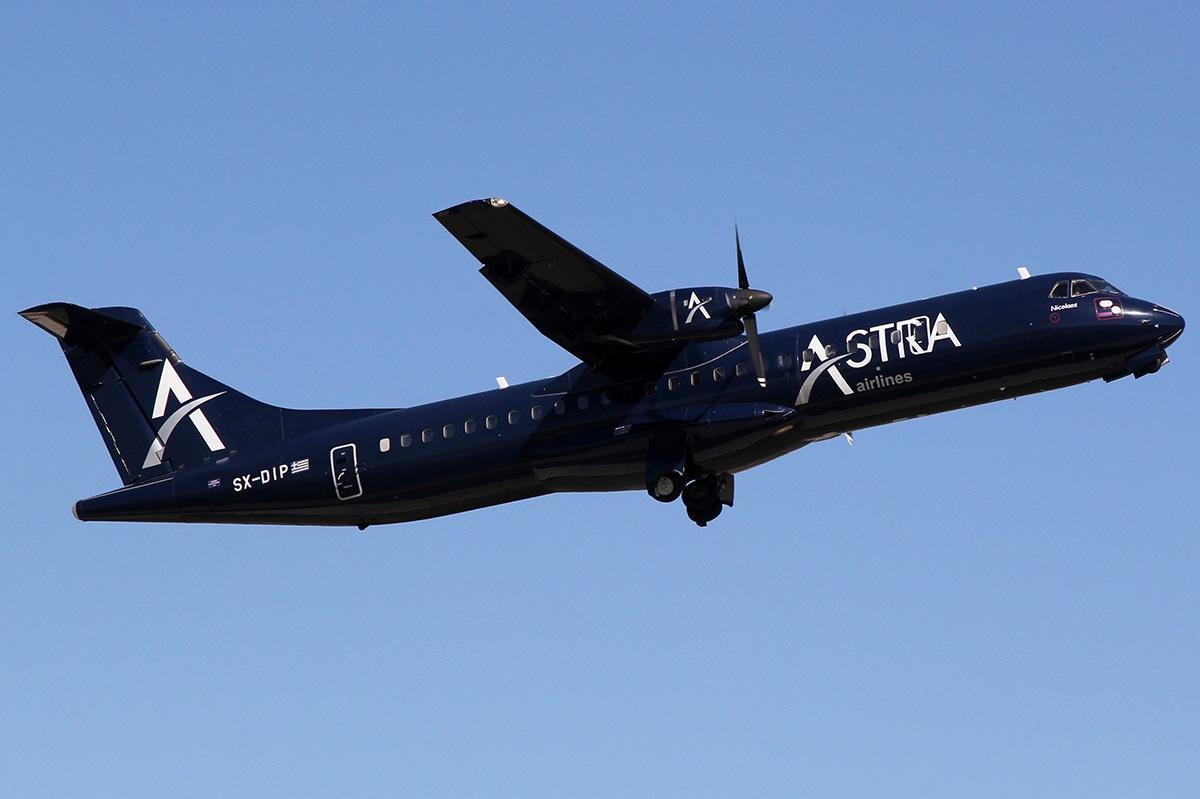 ATR-72 набирает высоту