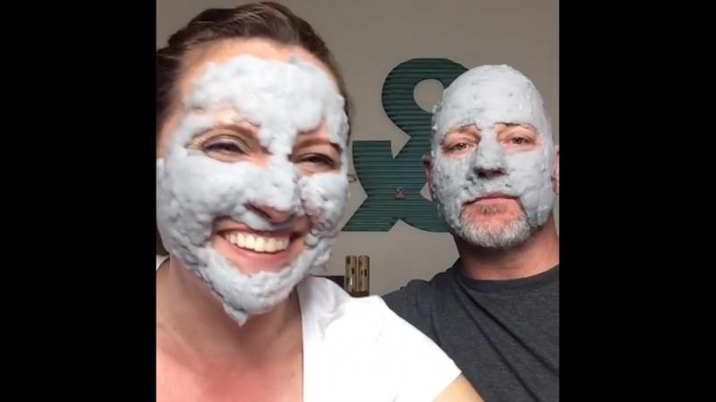 Пузырьковая Маска Elizavecca milky piggy carbonated bubble clay mask