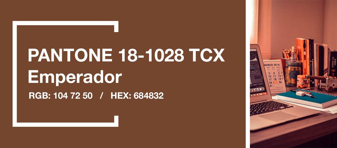 PANTONE 18-1028 Emperador — Эмперадор