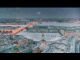 Полёты над зимним Петербургом. Осторожно, очень красиво!