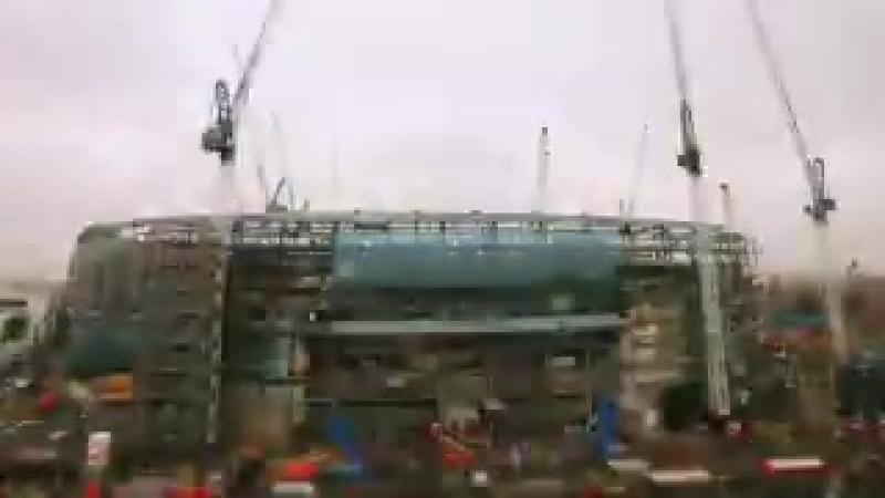 Новый стадион Тоттенхэма vk.com/uefa_fans