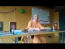 Трансляция лекции Махадьюти Сами по Бхагавад-Гите 2.66 в Ганновере, Германия