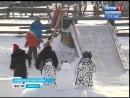 В Баяндаевском районе местный житель сам соорудил ледовый город