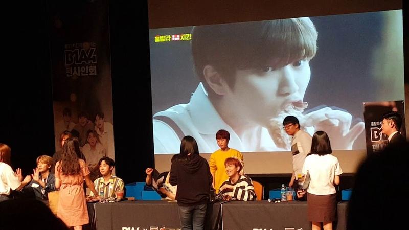 훌랄라 팬싸인회 B1A4(4)
