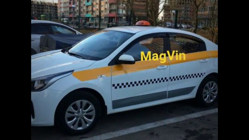 Представляем боевой окрас такси МО на магнитах MagVin