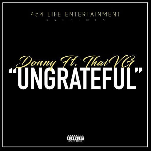 Donny альбом Ungrateful (feat. Thaivg)