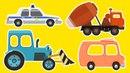 Мультики про машинки - Тачки - Тачки - Все серии подряд - Сборник - Сериал для мальчиков