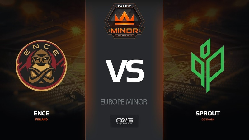 ENCE vs Sprout, map 2 nuke, Europe Minor – FACEIT Major 2018