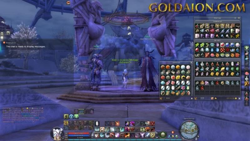 [GoldAion.com] Templar - PvP PvE FUN PLAY Craft