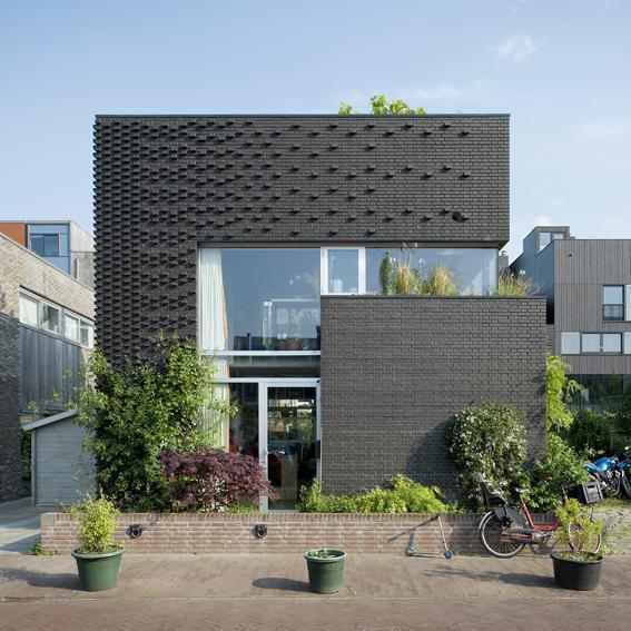 #Кирпичный #дом в Голландии.