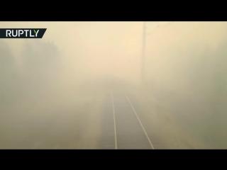 Поезд в ад (Пожар в Комсомольске на Амуре)