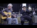 Keith Richards &amp James Cotton Rehearsing