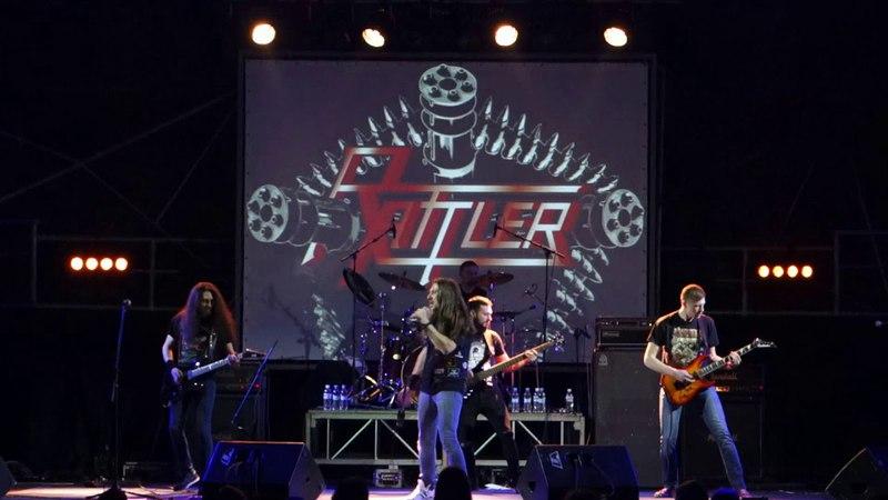 Rattler - Dead Soldiers Want Revenge (Live at Bingo club, Kiev, 16.03.2018)