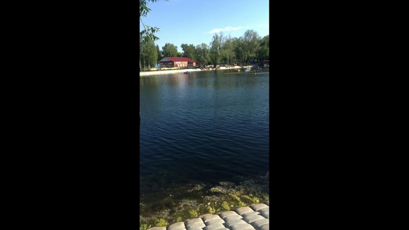 В парке у озера
