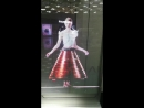 Transparent led robotmoda