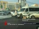Автоледи за рулем Mercedes влетела в маршрутку полную пассажиров в Челябинске