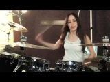 FIVE FINGER DEATH PUNCH - UNDER AND OVER IT - DRUM COVER BY MEYTAL COHEN