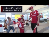 Kimi Fan Meets His Idol | 2017 Spanish Grand Prix
