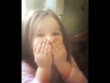 Саша Шева - Моя маленькая девочка!!! Я тоже тебя люблю