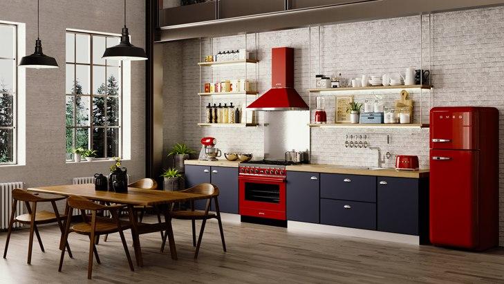 Кухонные плиты Smeg Portofino купить в Краснодаре