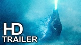 GODZILLA 2 KING OF THE MONSTERS Trailer Teaser #1 NEW (2018) Giant Monsters Action Movie HD