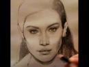 Sketching of Bella Hadid