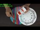 Декупаж часов для дачного домика (