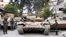 الحرس الجمهوري يقتحم أوكار د-اعش في مخيم ال