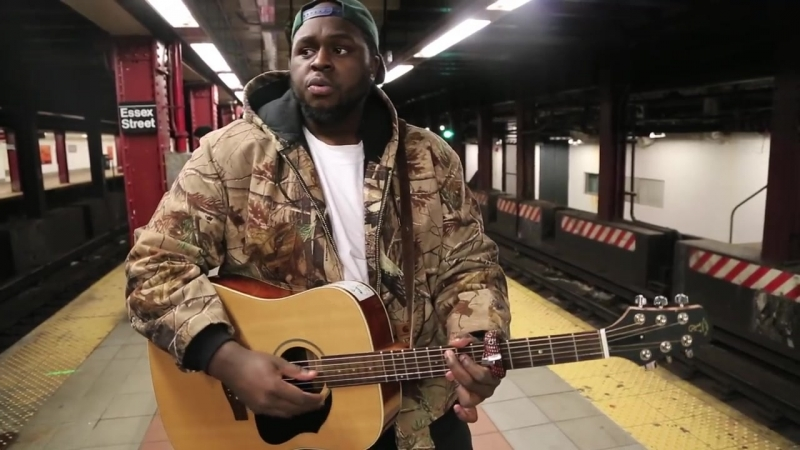 Hollywood Anderson -- My Bestfriend (Live from the Delancey Essex Street Train Station)
