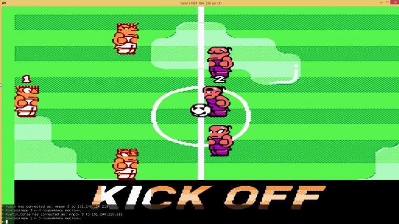 V Командный Чемпионат по Kunio-kun no Nekketsu Soccer League Aeris JAMLIGHT vs Rustin Cohle Kubik