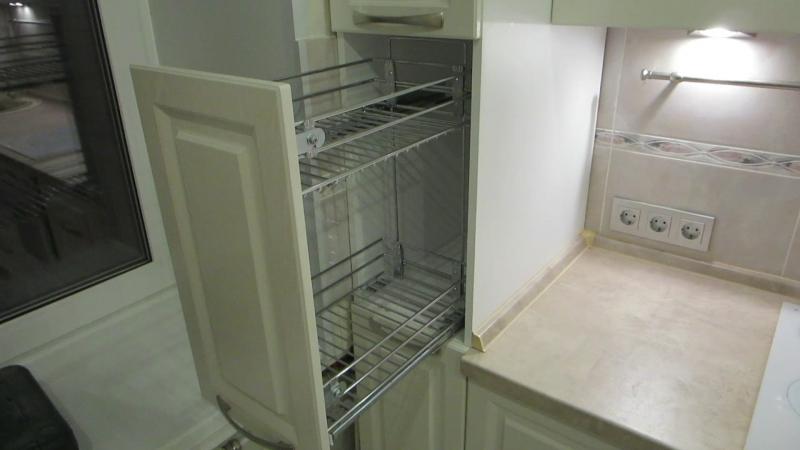 Наша кухня установленная в Колпино на ул.Машиностроителей