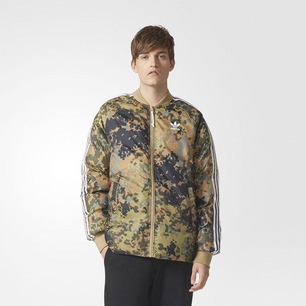 Куртка PHARRELL WILLIAMS HU HIKING CAMO SST
