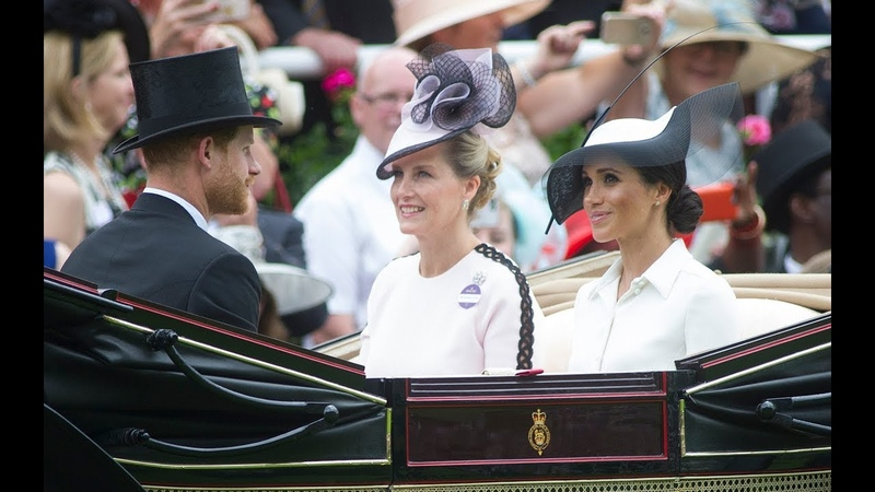Royal Ascot Procession 2018 D-1 Ascost Fashion, Who was spotted at the races