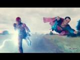 Гонка Супермена и Флэша - Отрывок из фильма