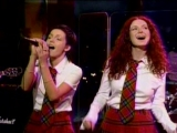 t.A.T.u. - All The Things She Said (The Late Late Show with Craig Kilborn) (27.02.2003)
