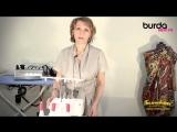 Оверлок. Видео Урок 1 от Burda - заправка нитей.