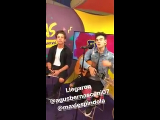 «MYA»   на программе «Fans En Vivo»