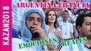 ARGENTINA - FRANCIA l Mundial 2018 l Kazan l Emociones desde Kazan-Arena