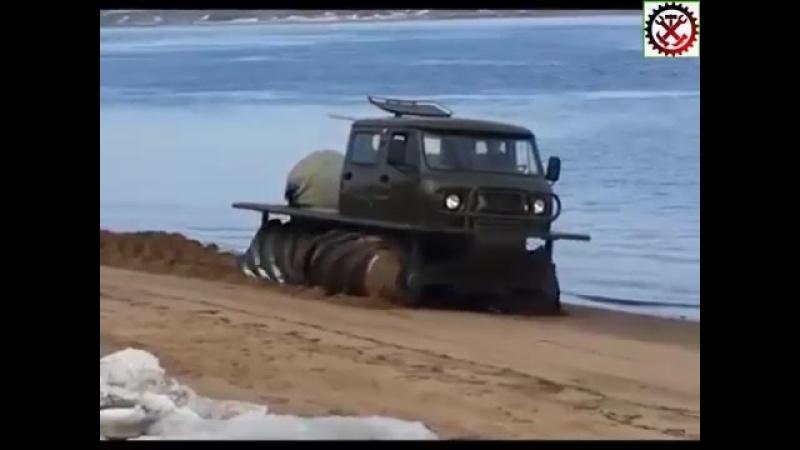 Шнековый вездеход УАЗ