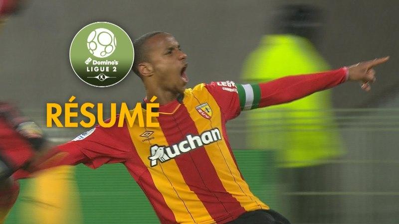 RC Lens - Paris FC ( 1-0 ) - Résumé - (RCL - PFC) / 2017-18