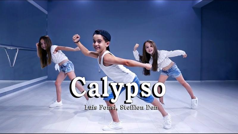 Luis Fonsi, Stefflon Don - Calypso Children Dance Version