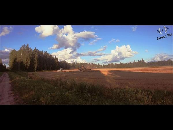 New Holland CR8.90[Latvia][ZS Kadiķi M.A.][Real sound][Video by Farmer_Ren]