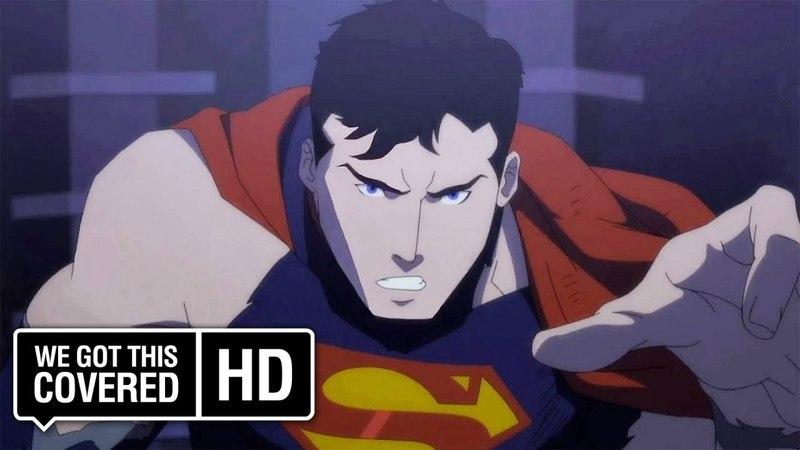 THE DEATH OF SUPERMAN Official Trailer 1 [HD] Matt Lanter, Rosario Dawson, Nathan Fillion