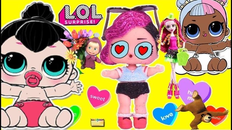 ROCKER КУКЛА ЛОЛ И LIL SPICE AND LIL SUGAR 💗💗💗 Мультики для девочек про игрушки детей 3 года 💗