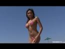 Coral Print Micro Bikini Video