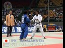 JUDO 2005 World Championships Cairo Sae Nakazawa JPN - Yurisel Laborde CUB